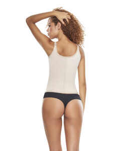 CIR Vest Cincher Nude Back