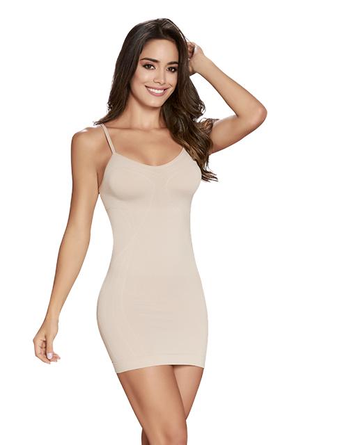 CIR Curvy Cami Slip Nude Front