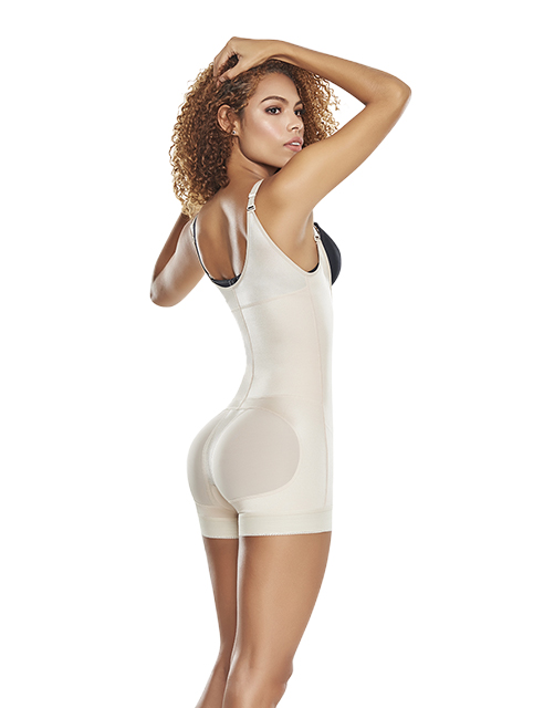 CIR Open Bust Shaper Nude Side